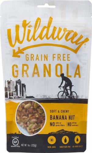 Wildway Banana Nut Grain & Gluten Free Granola Perspective: front