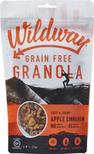 Wildway Gluten Free Apple Cinnamon Granola Perspective: front