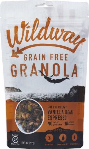 Wildway  Grain Free Granola Gluten Free   Vanilla Bean Espresso Perspective: front
