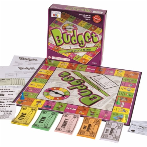 Learning Advantage 2016206 Money & Budget Game Perspective: front