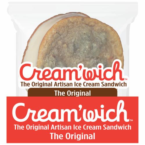 Cream'wich The Original Ice Cream Sandwich Perspective: front