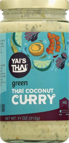 Yai's Thai Thai Green Coconut Curry Perspective: front