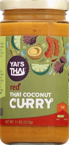 Yai's Thai Thai Red Coconut Curry Perspective: front