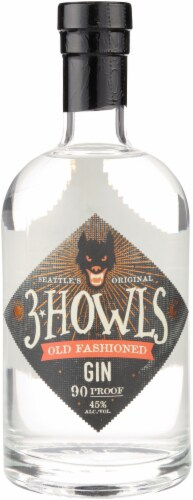 3 Howls Old Fashioned Gin Perspective: front