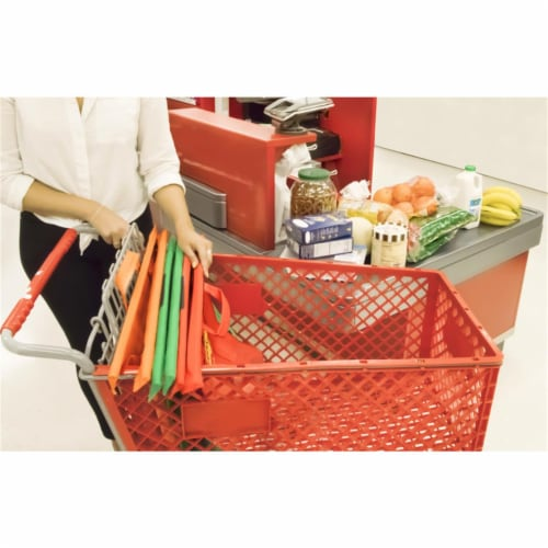 Scrub Daddy 9039048 4 x 27 x 8 in. Cart Reusable Shopping Bag Perspective: front