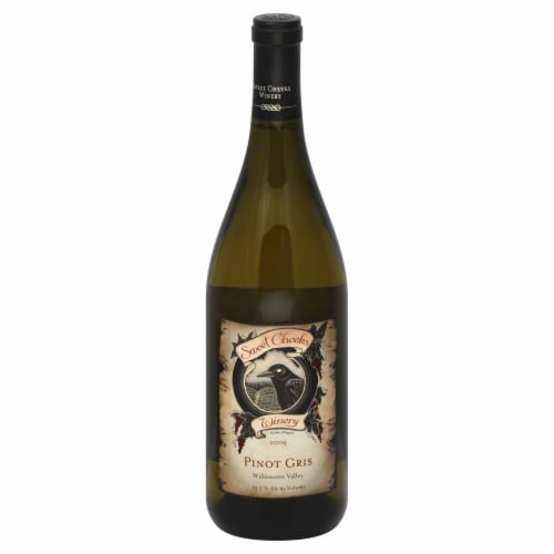Sweet Cheeks Winery Pinot Gris Perspective: front