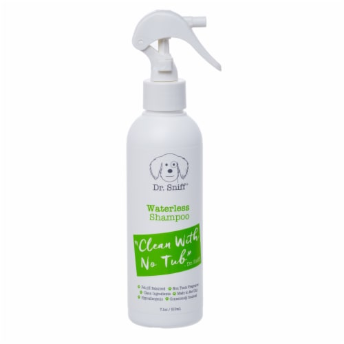 Dr. Sniff No H20 Waterless Shampoo Perspective: front