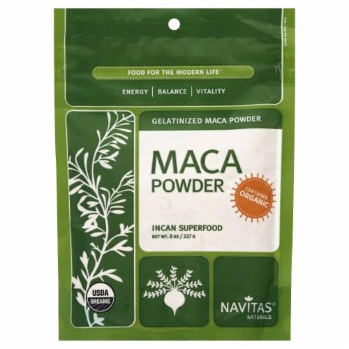 Navitas Naturals Maca Gel Powder Perspective: front
