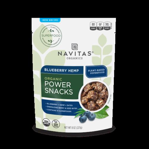Navitas Naturals Blueberry Hemp Perspective: front
