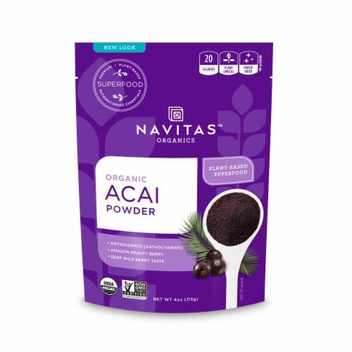 Navitas Organics Acai Powder Perspective: front