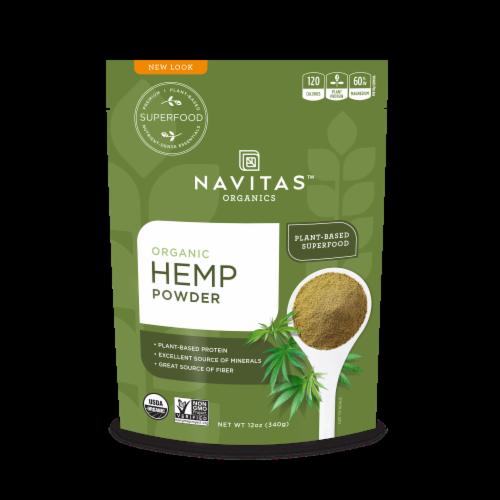 Navitas Organics Hemp Powder Perspective: front