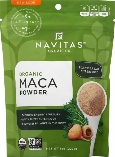 Navitas Maca Powder Perspective: front