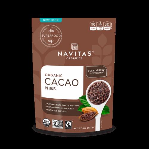 Navitas Naturals Organic Cacao Nibs Perspective: front