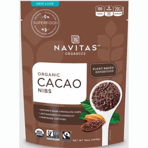 Navitas Naturals Cacao Nibs Perspective: front