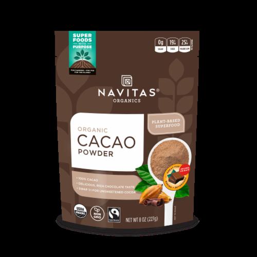 Navitas Organics Cacao Powder Perspective: front