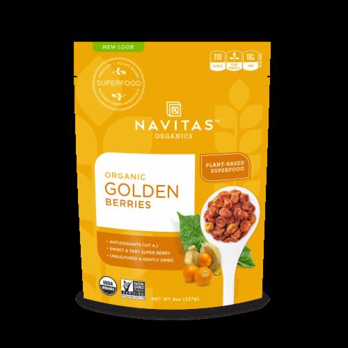 Navitas Naturals Goldenberries Perspective: front