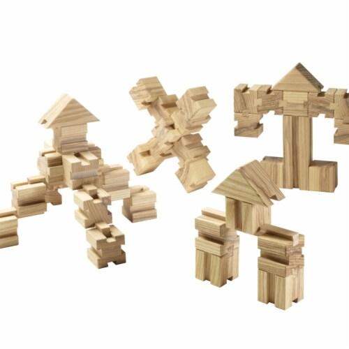 Aha Concepts 1586632 The Un-Block Unit Blocks - Set of 200 Perspective: front
