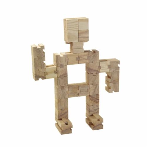Aha Concepts 1586630 The Un-Block Unit Blocks - Set of 50 Perspective: front
