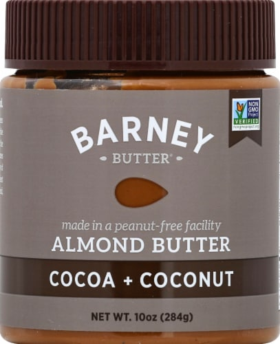 Barney & Co. Cocoa & Coconut Almond Butter Perspective: front