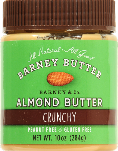 Barney Butter Crunchy Almond Butter Perspective: front