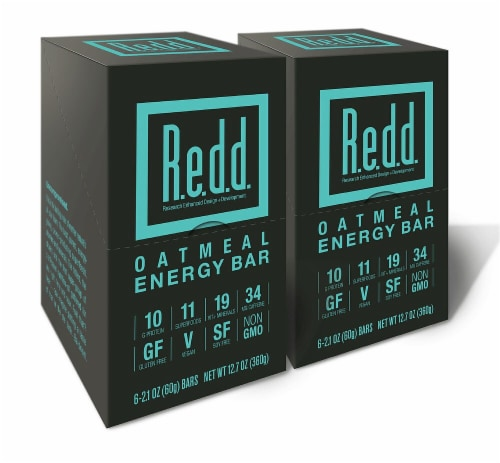R.e.d.d. Oatmeal Energy Bar Perspective: front