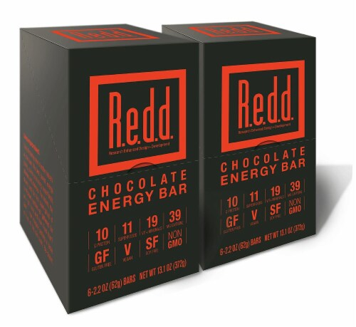 R.e.d.d. Chocolate Energy Bar Perspective: front