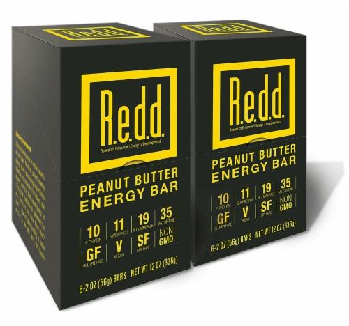 R.e.d.d. Peanut Butter Energy Bar Perspective: front