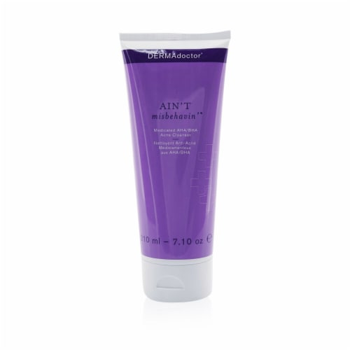 Aint Misbehavin Medicated AHA/BHA Acne Cleanser Perspective: front