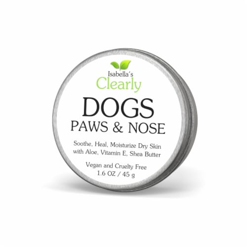 Clearly PAWS & NOSE, Soothing and Moisturizing Balm for Dogs Perspective: front