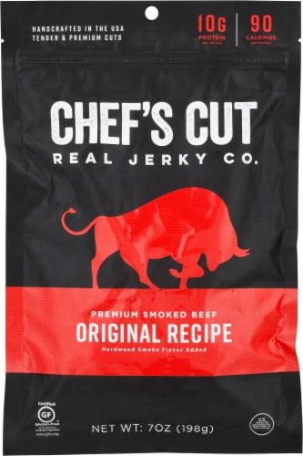 Chef's Cut Original Smokehouse Mini Beef & Pork Sticks Perspective: front