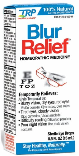 TRP  Blur Relief Eye Drops Perspective: front