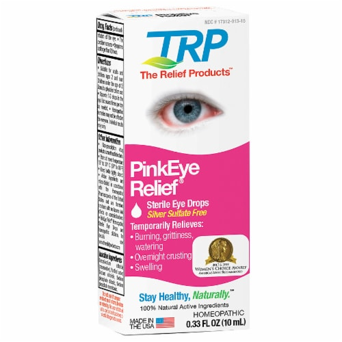 TRP Pinkeye Relief Eye Drops Perspective: front