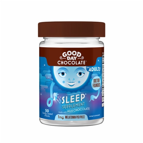 Good Day Milk Chocolate Sleep Supplement Perspective: front