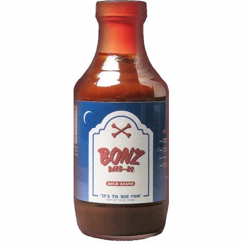 Bonz Bold Barb-BQ Sauce Perspective: front