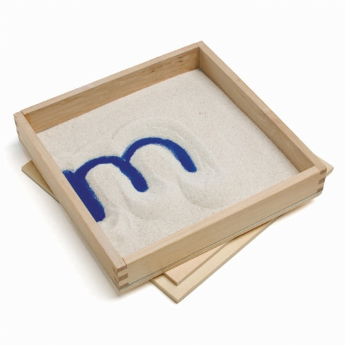 Primary Concepts™ Letter Formation Sand Tray - 4 Pack Perspective: front
