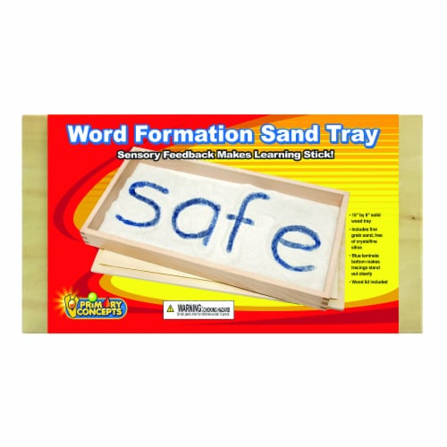 Primary Concepts™ Word Formation Sand Tray Perspective: front