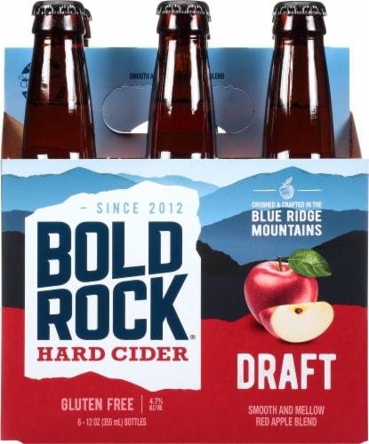 Bold Rock Virginia Draft Amber Apple Cider Perspective: front