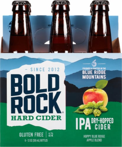 Bold Rock India Pressed Apple IPA Perspective: front