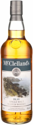 McClelland's Scotch Whiskey Perspective: front
