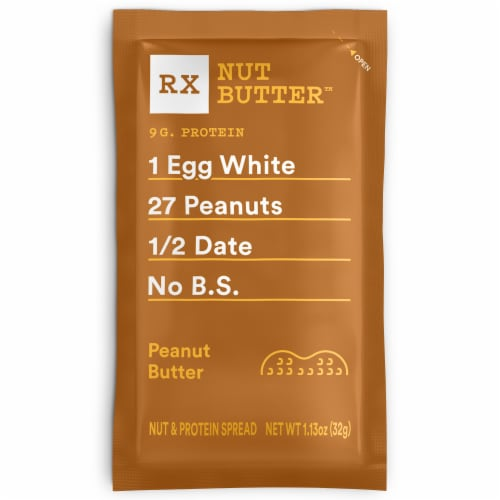 RXBAR Peanut Butter Nut & Protein Spread Perspective: front