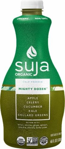 Suja Mighty Dozen Organic Vegetable & Fruit Juice Drink Perspective: front