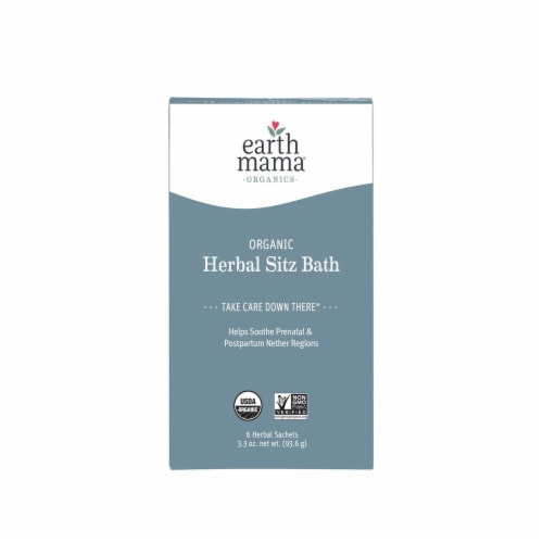 Earth Mama Angel Baby Postpartum Bath Herbs Perspective: front