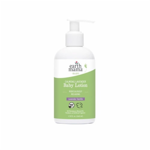 Earth Mama Calming Lavender Baby Lotion Perspective: front
