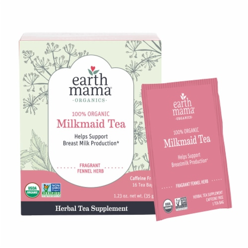 Earth Mama Organic Milkmaid Tea Perspective: front