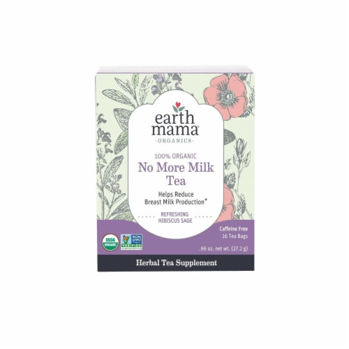 Earth Mama Organic No More Milk Tea Perspective: front