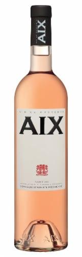 AIX Coteaux Daix Rose Wine Perspective: front