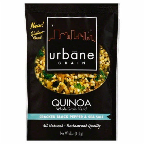 Urbane Grain Cracked Black Pepper & Sea Salt Quinoa Perspective: front