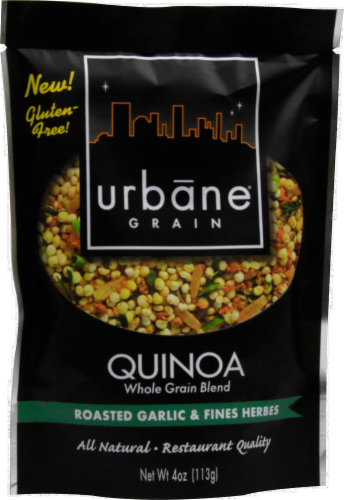 Urbane Grain Roasted Garlic & Fines Herbs Quinoa Perspective: front