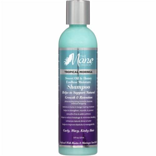 The Mane Choice Tropical Moringa Sweet Oil & Honey Endless Moisture Shampoo Perspective: front