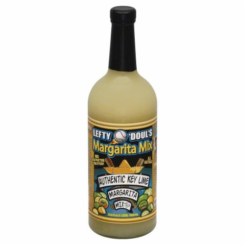 Lefty O'Douls Authentic Key Lime Margarita Mix Perspective: front